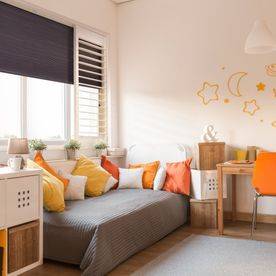 Kids_room, shade_and_shutters, bright_colours