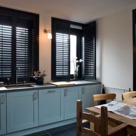 Hygienic, washable shutters for all areas, colour_or_wood